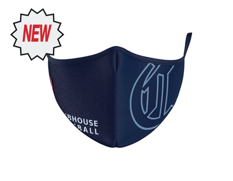 The Clubhouse - The C Triple Layer Sport Face Mask