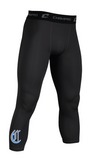 The Clubhouse - 3/4 Length Compression Bottoms