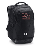 NCYW - Under Armour Hustle Embroidered Backpack