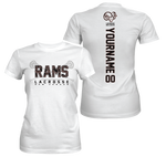NC Lacrosse - RAMS Wordmark Performance T-shirt