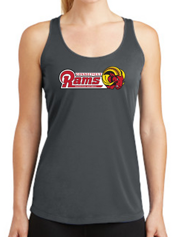 CT Rams - Racerback Tank Top