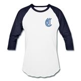 SPOD - The Clubhouse - M's Baseball T-Shirt - white/navy