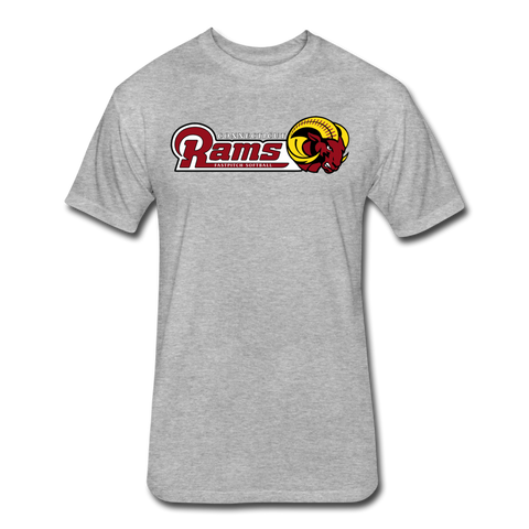 CT Rams Casual T's - heather gray