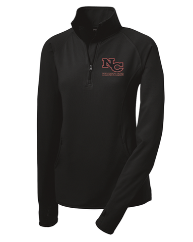 NCYW - Women's Embroidered Performance Quarter Zip