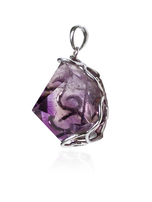 Spiritual Powerhouse Super 7  Purple Pendant.