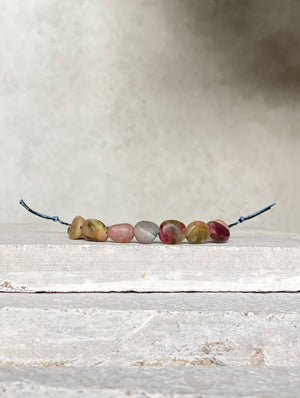 OM.Theplacement Matte Tourmaline Bracelet 磨砂碧璽