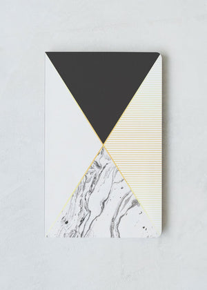 Lay Flat Notebook (MARBLE X)