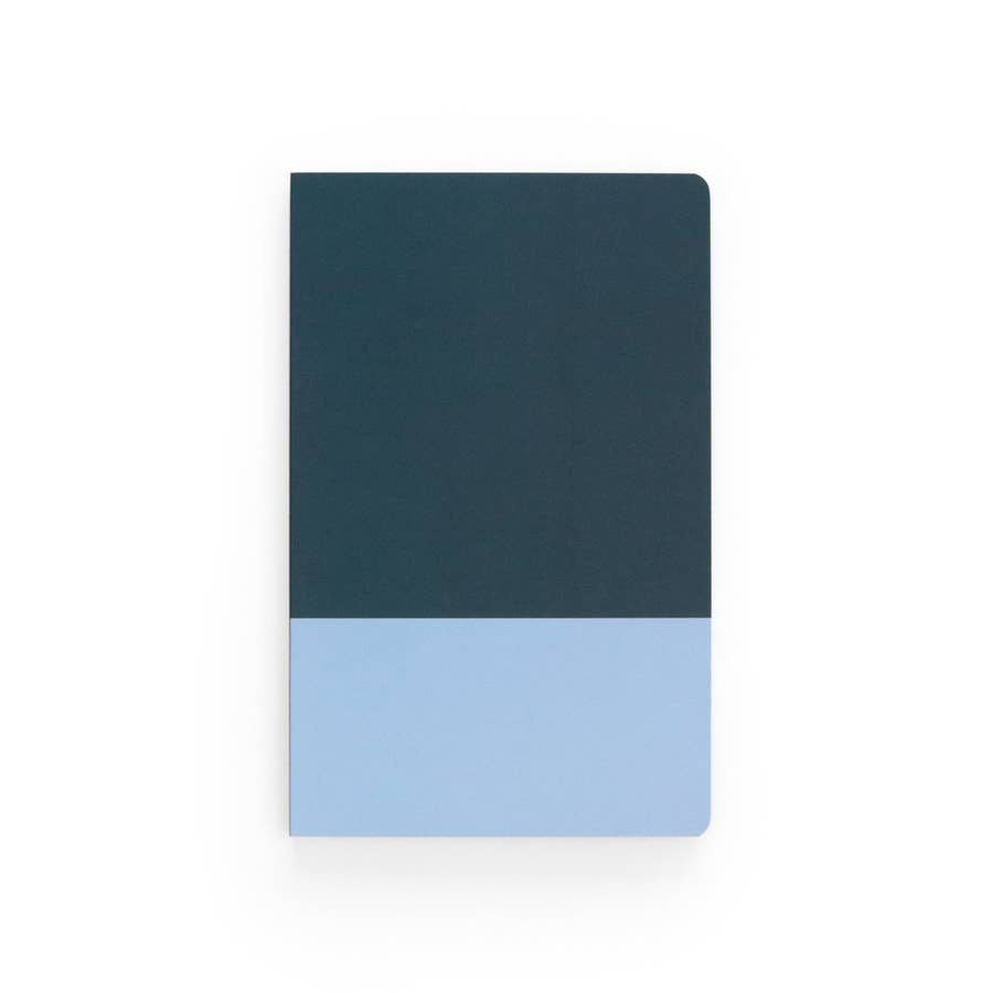 Lay Flat Notebook (BLUE TONE)
