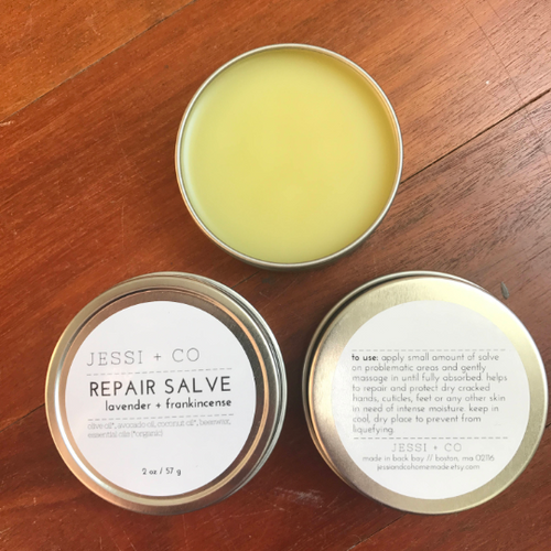 Lavender + Frankincense Repair Salve