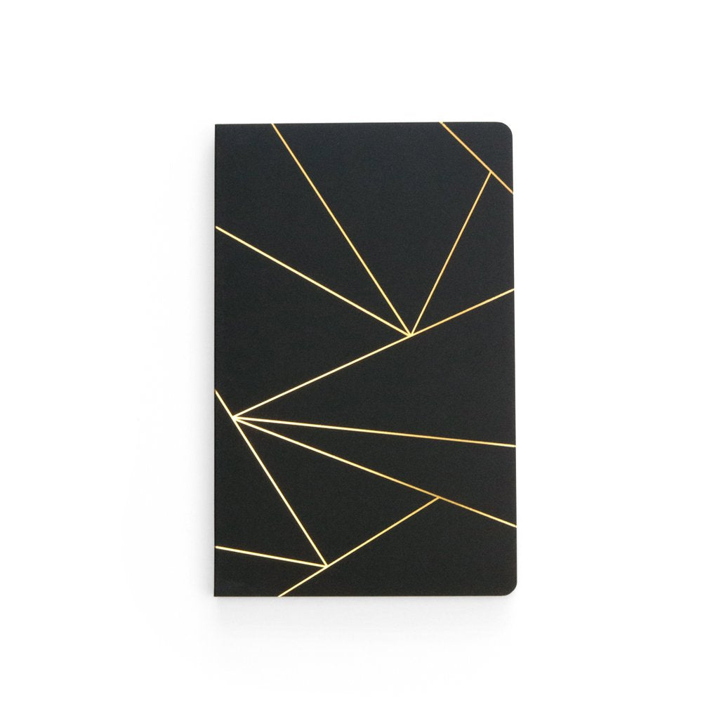 Lay Flat Notebook (GEO BLACK)