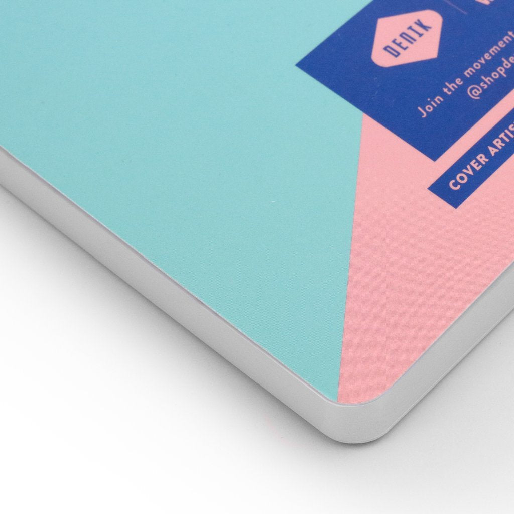 Lay Flat Notebook (TRI-COLOR)