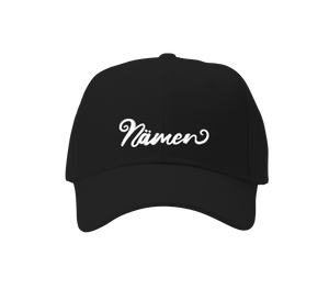 'Namen' Embroidered Cap (Various Colours)