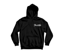 Load image into Gallery viewer, 'Fuck Life' Embroidered Hoodie (Various Colours)