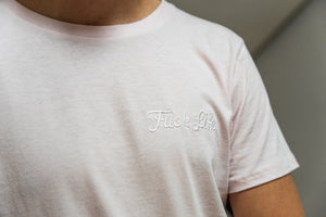 'Fuck Life' Embroidered Tee (Various Colours)