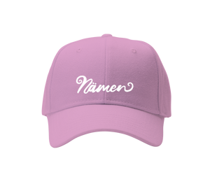 'Nämen' Embroidered Cap (Various Colours)