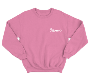 'Nämen' Embroidered Sweatshirt (Various Colours)