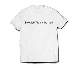 'Swedish Teo' Printed Tee (Various Colours)