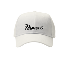 Load image into Gallery viewer, 'Namen' Embroidered Cap (Various Colours)