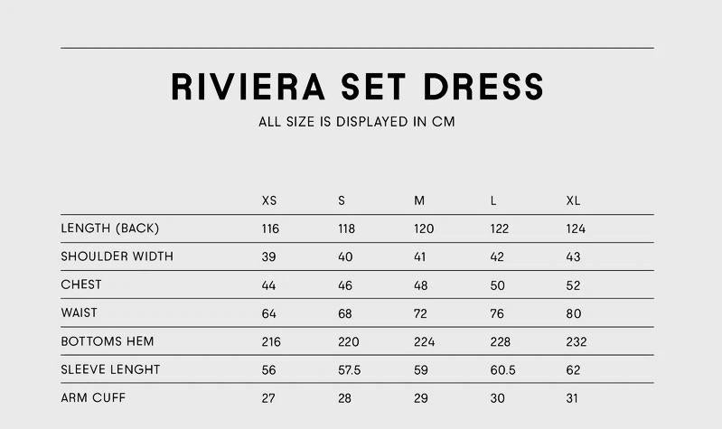 Riviera Dress Lemon
