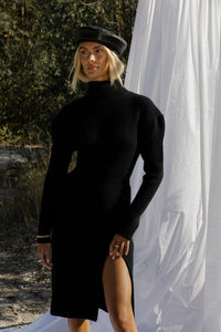 St Mortiz Dress Black