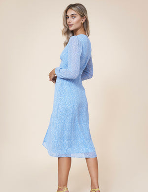 Paris Dress Blue