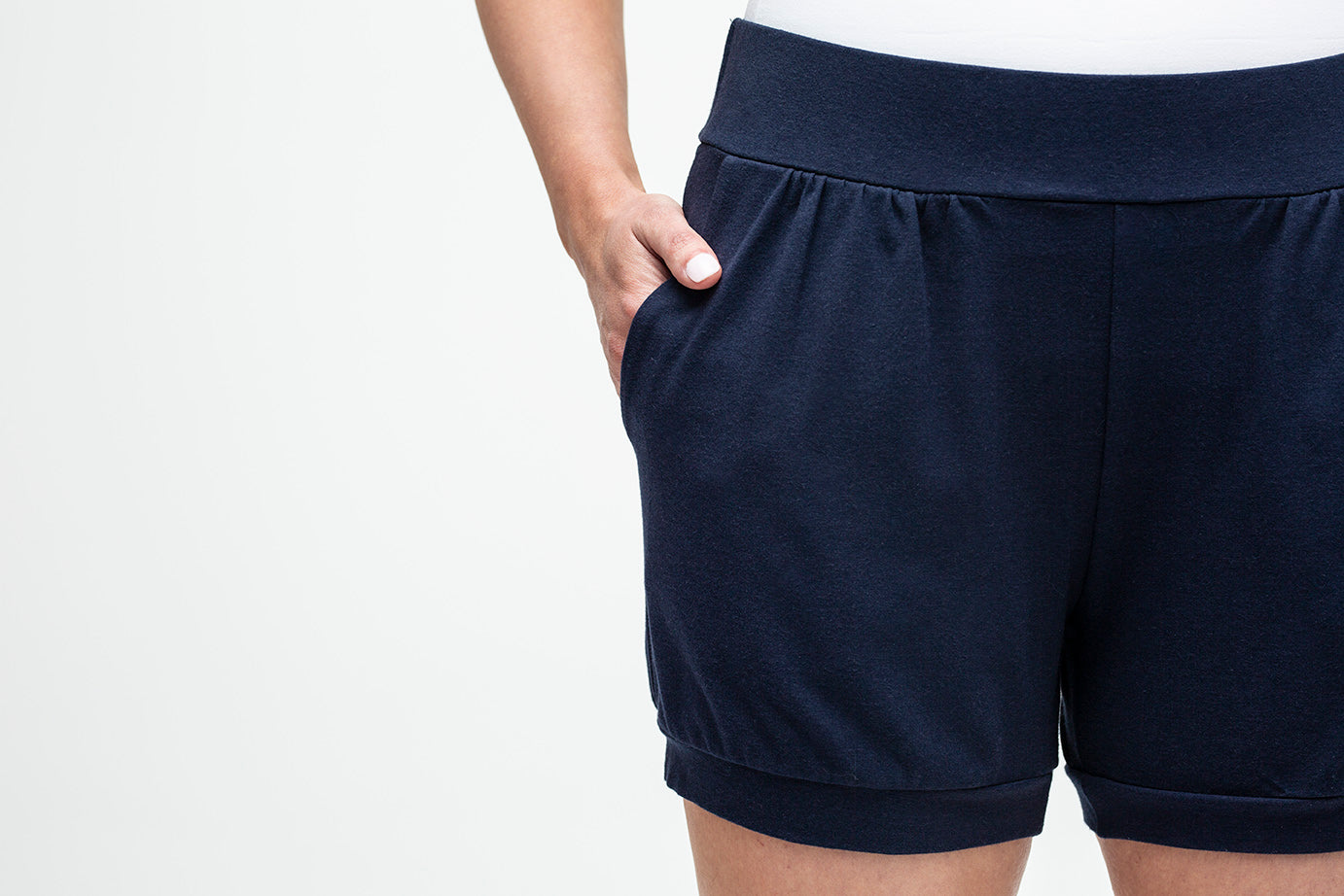 All-Around Shorts in Navy