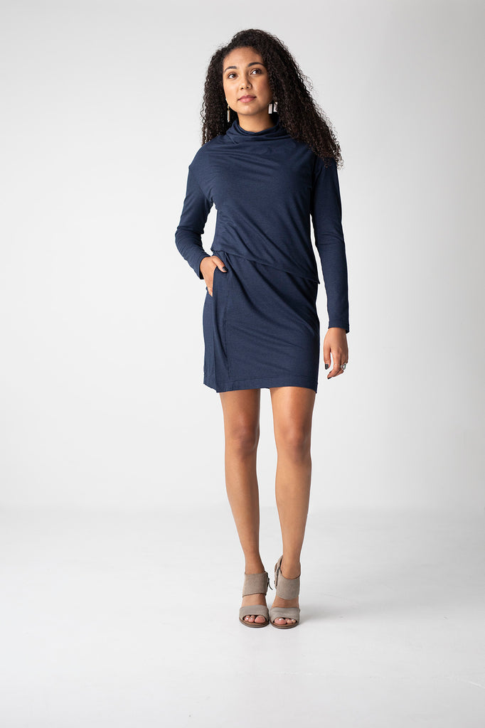 Everywhere Dress in Navy