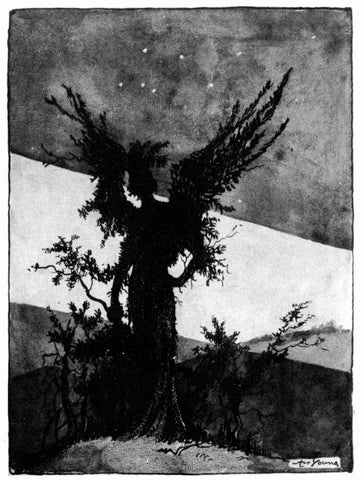 Art Young - Archangel (Trees At Night)