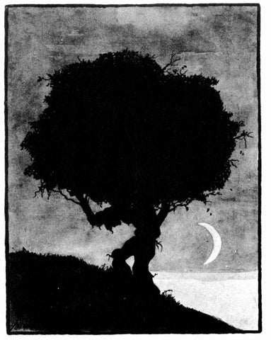 Art Young - Weary And Heavy Laden (Trees At Night)