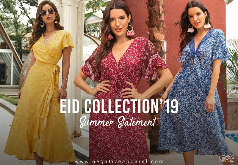 YOUR TOP FIVE PICKS THIS EID WITH NEGATIVE APPAREL
