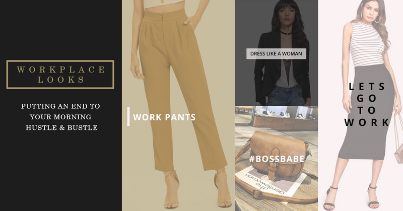 Workplace Looks: Putting an End To Your Morning Hustle and Bustle