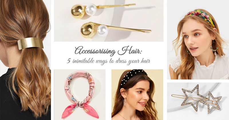 Accessorising Hair: 5 inimitable ways to dress your hair