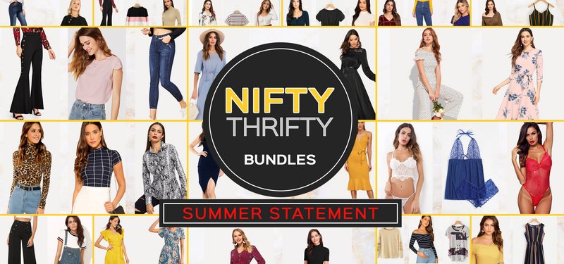 IT IS OUT THERE: NIFTY THRIFTY BUNDLES!!!!