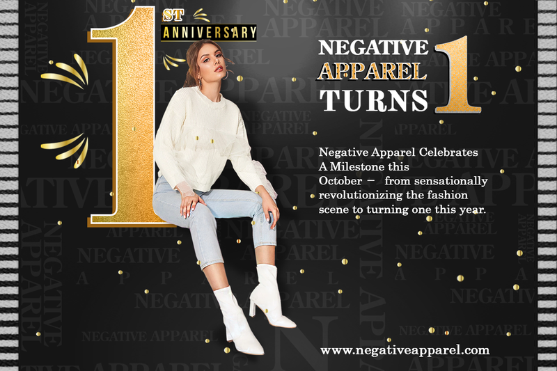 NEGATIVE APPAREL TURNS ONE