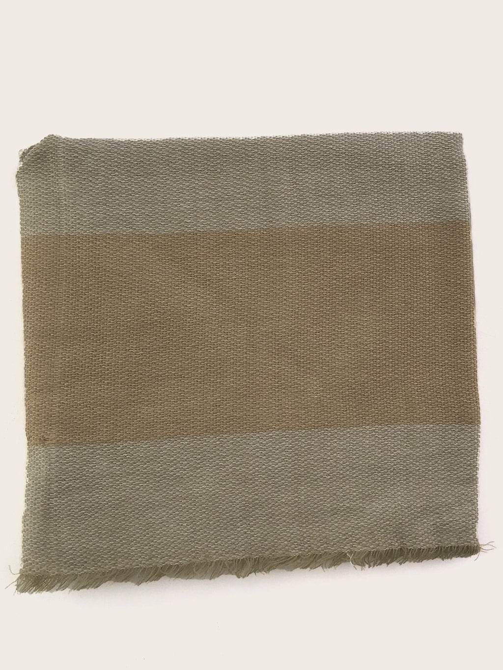 Color Block Raw Hem Scarf (4352929923137)