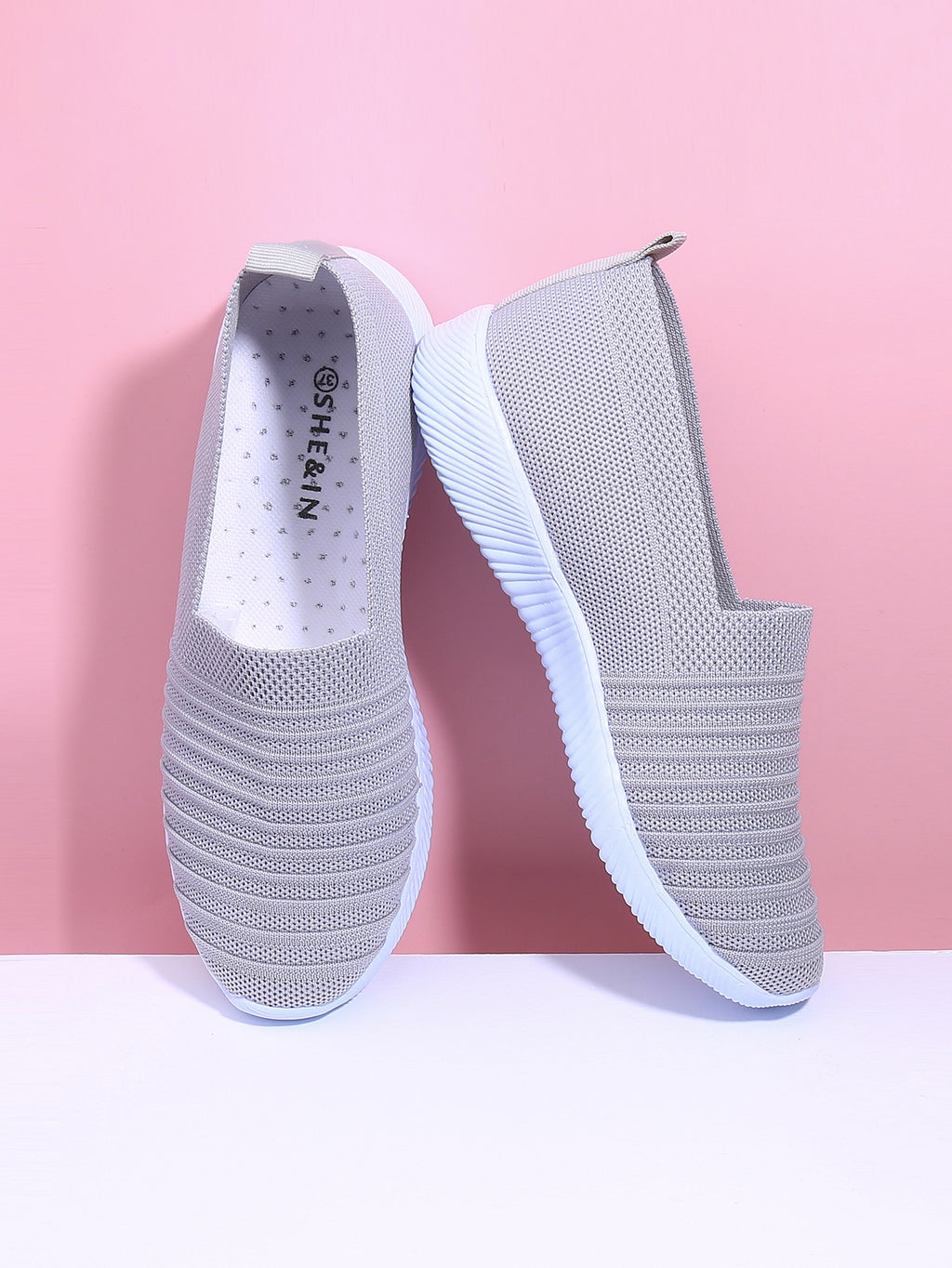Knit Slip On Sneakers