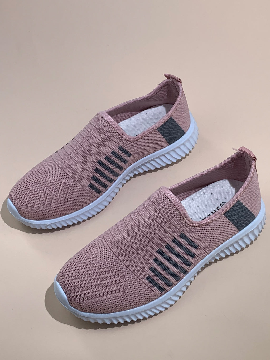 Wide Fit Slip On Sneakers