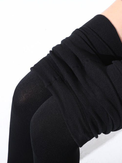 1200D Fleece Lined Tights-Negative Apparel