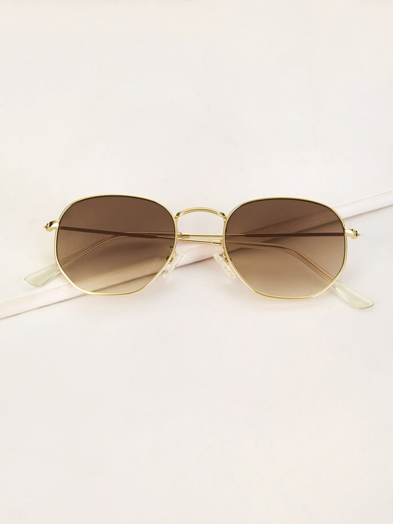 Metal Frame Tinted Lens Sunglasses (3924260749382)