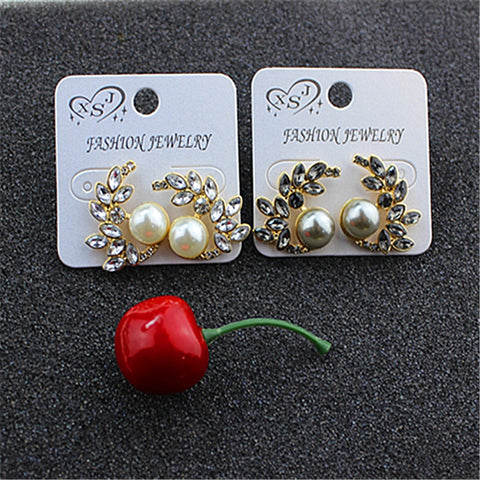 Beautiful new fashion ladies wholesale jewelry factory girls birthday party luxury of pearl earrings earrings gift