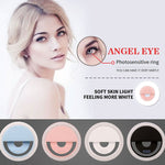 Portable LED Selfie Flash Light Up beauty artifact circular Luminous Ring Clip Wireless Charger Battery For iPhone 8 x 7 6S Plus