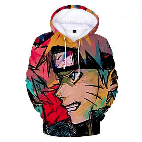 Hot Anime Naruto Hoodies Men Women Winter pullovers 3D Hooded Oversized Sweatshirts Naruto 3D Hoodies Men
