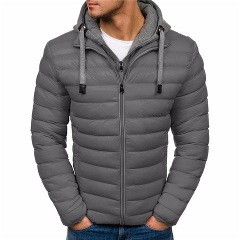 Winter Jacket Men Clothes New Brand Hooded Parka Cotton Coat Men Keep Warm Jackets Fashion Coats