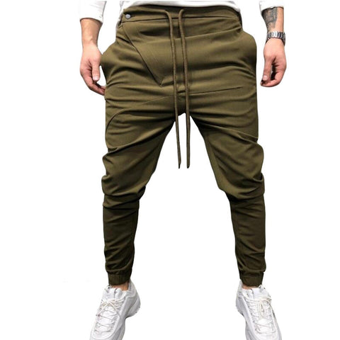 New style Fashion Male autumn tight Casual pencil trousers/Men Black grey red slim Fit Casual fitness sweatpants