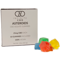 Infinite CBD asteroids gummies