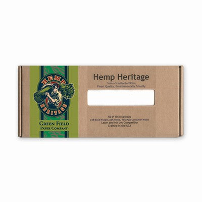 Hemp Heritage #10 Business Envelopes