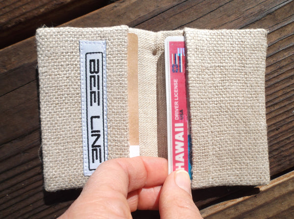 Hemp Card Holder