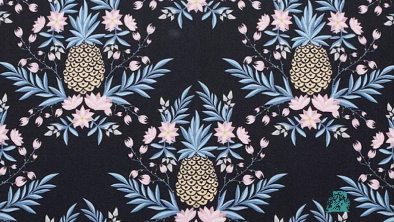 Kennington Ltd Zoom Background Pina Pineapple