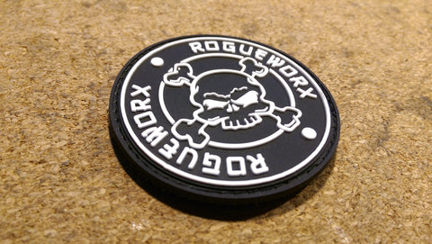 ROGUEWORX PVC LOGO PATCH - VELCRO BACKED