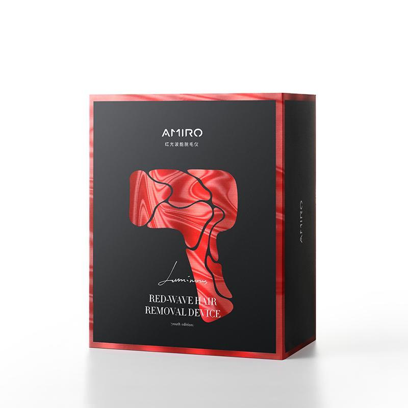 AMIRO Ice point red light wave hair removal device hair remover no pain